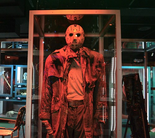 Jason's mask and outfit