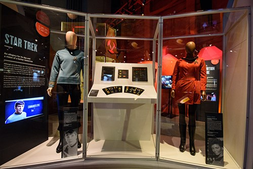 Star Trek gallery at MoPOP