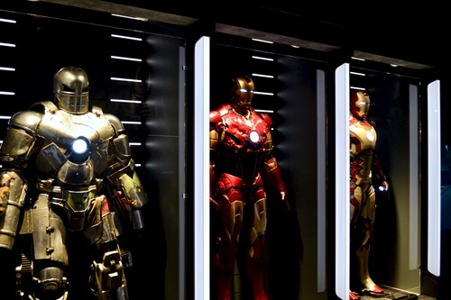 Iron Man section of marvel Universe of Super Heroes gallery