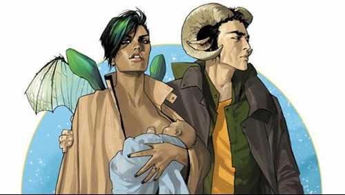 Saga by Brian Vaughan and Fiona Staples