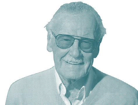 Stan Lee medium closeup