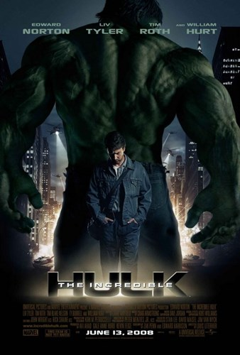 The Incredible Hulk movie poster