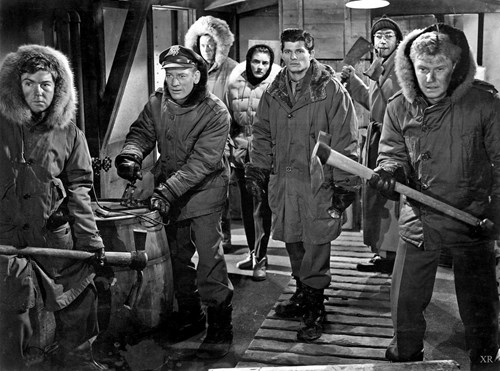 Scene from the 1951 movie The Thing from Another World