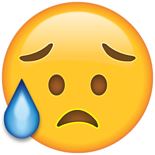 disappointed emoji