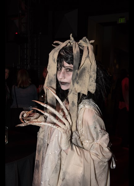Amazing costume at MoPOP's Fashionably Undead event