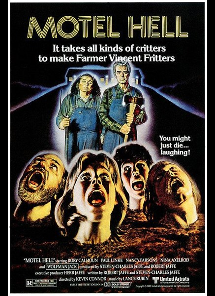 Motel Hell movie poster