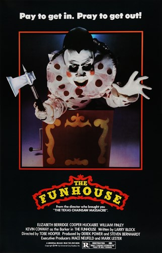 The Funhouse movie poster