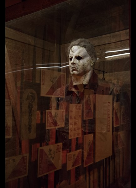 Ghostly Michael Myers in Scared to Death at MoPOP