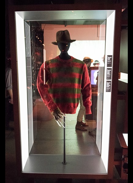 Freddy Kruegers costume in Scared to Death at MoPOP