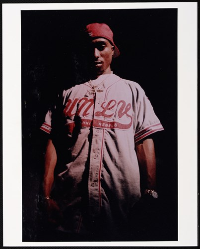 Portrait of Tupac