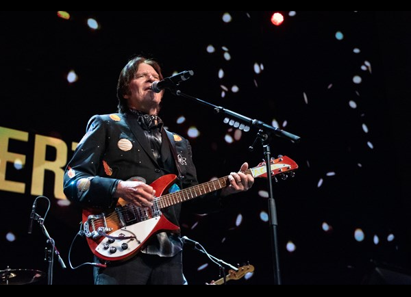 John Fogerty performing at MoPOP's Founders Award 2018