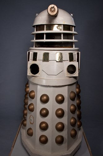 Dalek prop from Dr Who at MoPOP
