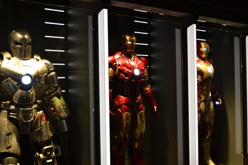 Iron Man suits in MARVEL: Universe of Super Heroes