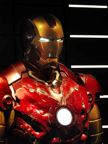 Damaged Iron Man Suit costume
