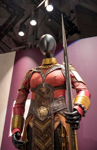 Okoye costume from Black Panther