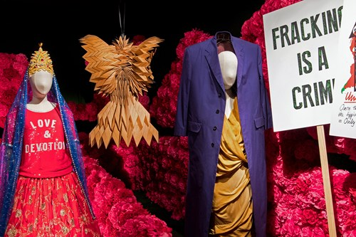 Vivienne Westwood design in A Queen Within: Adorned Archetypes at MoPOP