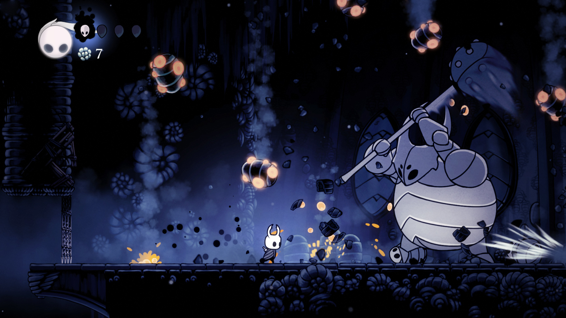"""Hollow Knight"" indie video game"