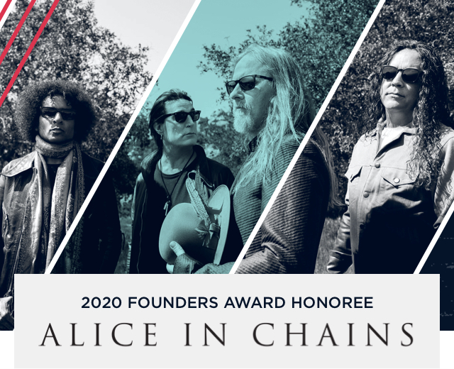 Alice In Chains — Founders Award